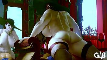 Resident Evil 8 Lady Dimitrescu Rough Pounding