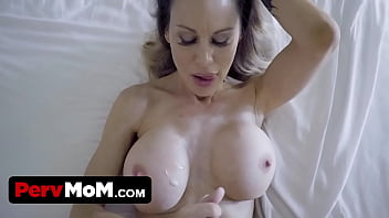 Stepson Caught Perving On His Hot Step Mom