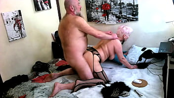 A mature bitch in the form of a Kitty passionately sucks a dick and takes it in all holes! )) Hello, my mature Kitty! ))