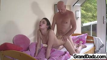 Nana Garnet fucks Old Hugo