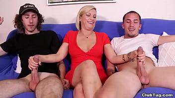 2 Teen Boys Milked By MILF – Kaylynn from ClubTug 9 min