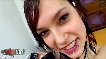 Porn casting of Silvia Rubi