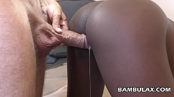 I love making her black pussy queef and drip