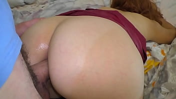 Son lifted mom skirt and fucked in the ass
