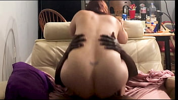 bbw fucked bbc at her family's house