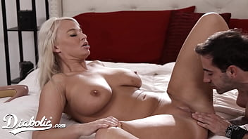 Big Tittied Blonde Milf Rides Her Student After Class - Diabolic
