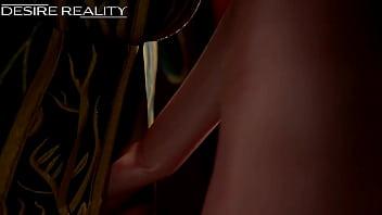 The witcher triss & ciri [3D HQ]