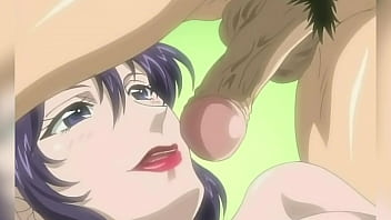 Hentai boy 69s his step-aunt and the hot MILF rides his dick for the first time