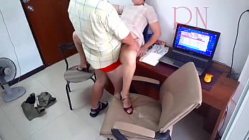 Hidden camera in office. Secretary fucks with her boss. Boss cum on the slut's ass. Whore is ready to fuck for a salary. 13 min