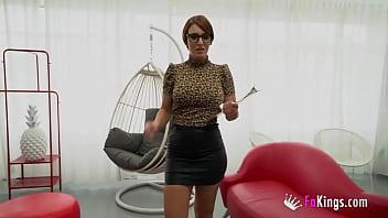 She finally left her boyfriend and wants a fiery career in porn!