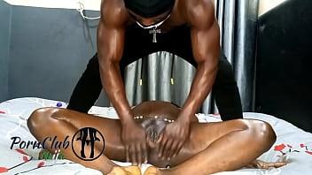 (Full Video) Intense Sensual Nigerian Massage and Raw Fuck.