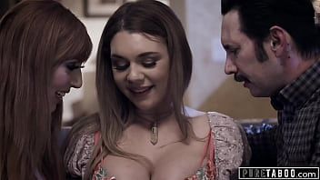 PURE TABOO Babysitter Gabbie Carter Agrees To Threesome With Kinky Couple 14 min