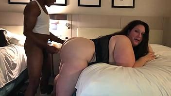 BBW Slut Eats & Takes This Big Cock 12 min