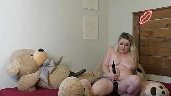 Fucking My Teddy Bears Until I Cum Hard
