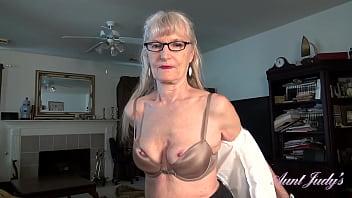 AuntJudys - 69yo Texas Amateur GILF Diane is your personal secretary