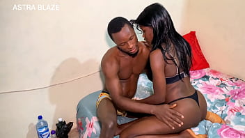 Dark skinned ebony under graduates from ebonyi state University have hard core sex during the sit at home in August