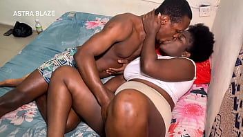 Watching movies makes her horny instead as ebony bbw bamby takes BBC from her step brother after parents left the house she gets fucked and squirts so very hard