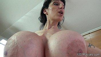 1001Facials - Penelope Black Diamond - cumshot - Blowjob