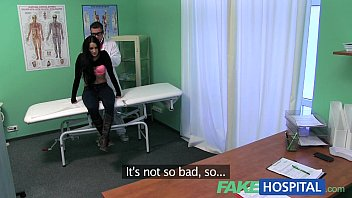 FakeHospital Tight hot wet patient moans with pleasure