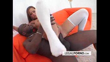 Hot brunette enjoying interracial sex BMP-2-02