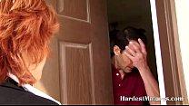 Mature redhead needs a payment