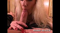 Huge tit MILF Tara Moon sucks dick and eats ass