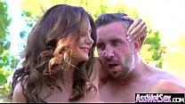 (ava addams) Lovely Big Curvy Butt Girl Enjoy Anal Sex Tape clip-06