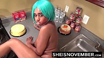 Sister Takes Hot Cumshot Facial To Face From Big Cock Step Brother Amateur Ebony