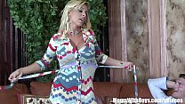Busty Mom Holly Halston Shags A Young Cock