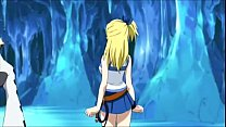 Lucy Heartfilia gets fucked by 2 monsters