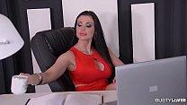 Busty Secretary Aletta Ocean gets Titty Fucked and creamed