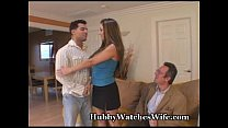Hot Wife Gets Slutty For Hubby