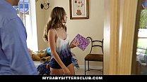 MyBabySittersClub - Babysitter Escort (Kimmy Granger) Fucked Then Hired