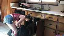 lucky plumber fucked by teen - Erin Electra