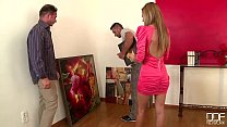 DDF Network - Romanian glamour model loves Double Penetration