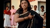 Roja removing her saree in public hot and horny boobs and navel show !!!