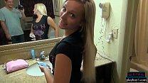 Blonde amateur GFs fucking in homemade porn videos
