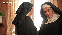 Sexual healing with two catholic nuns