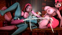 [MLP FUTA THREESOME] DASH POUNDED BY THE PINKS - NOW W AUDIO!