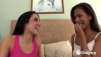 Ariana Fox Sticks Her Tongue Inside Lola Foxx's Pussy