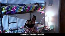 FamilyStrokes - (Violet Rain) Fucks Her Stepbro In her Dorm