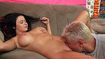 Busty Brunette Loni Evans Rides A Hard Cock