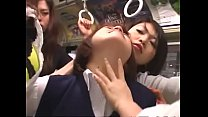 japanese lesbian schoolgirls groping on bus