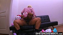 Mounting Daddy Dick, Msnovember BigButt Straddles StepFather BBC In Living Room Wearing Sleeping Clothes, Black Step Fantasy RoughFuck On Sheisnovember