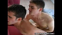 Tristan and Cole Sexy studs exchange blowjobs
