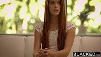 BLACKED Redhead Kimberly Brix First Big Black Cock