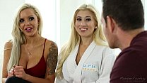 You must massage my stepson! - Nina Elle, Cristi Ann, Romeo Price