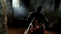 Cynthia Van Damme Interracial HOT African Tribe