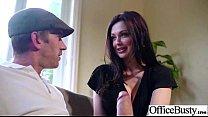 Sex Tape In Office With Slut Big Juggs Horny Girl (aletta ocean) video-01