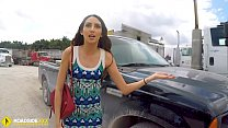 Roadside - Spicy Latina fucks a big dick to free her car